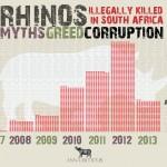 South Africa: 232 Rhinos Killed in 107 Days