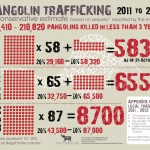 Pangolin Trafficking: 2011 to October 2013 [Infographic]