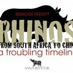 China's 'Rhino Horn Farming' Scheme: More Disturbing Details