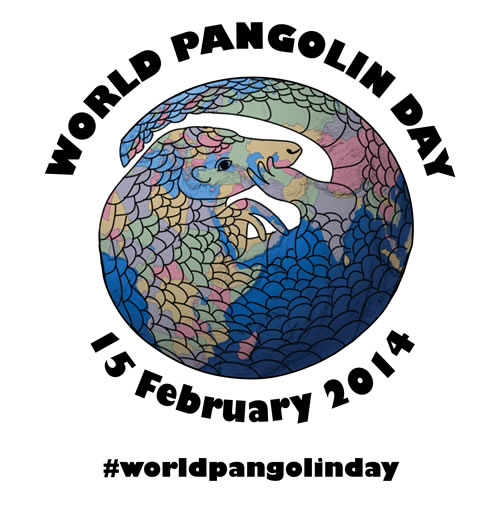 The third annual World Pangolin Day will be celebrated on February 15, 2014.