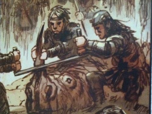 Rhino in graphic novel Noah by Darren Aronofsky, Ari Handel and Niko Henrichon.