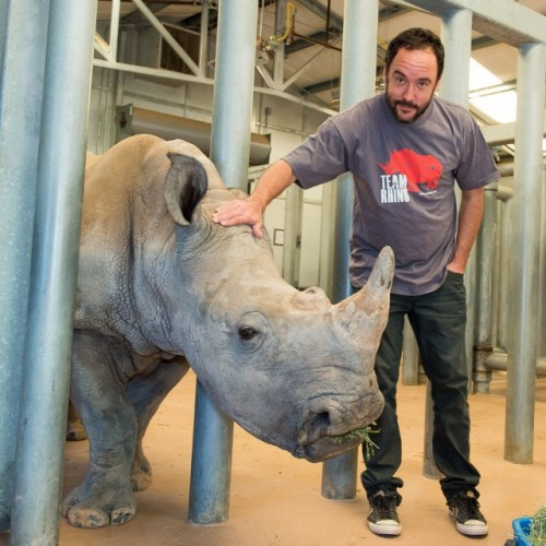 Dave Matthews is on Team Rhino. Are you? Photo courtesy of International Rhino Foundation.