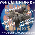 Fifth Annual World Rhino Day is September 22