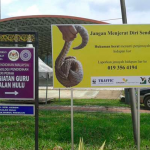 Malaysia: Posters and Signboard Warnings for Poachers and Traffickers