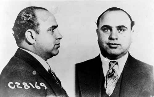 It took a team of federal, state, and local authorities to end Al Capone's reign as underworld boss. Precisely the kind of partnerships that are needed today to defeat wildlife criminals. Photo by United States Bureau of Prisons via Wikimedia Commons