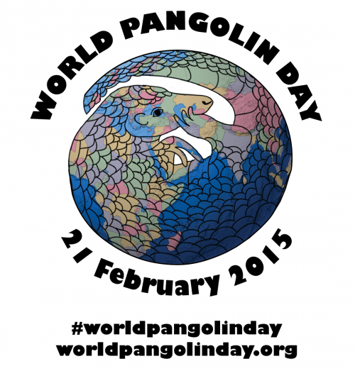 Calling all Pangolin People: The fourth annual World Pangolin Day will be celebrated on February 21, 2015!