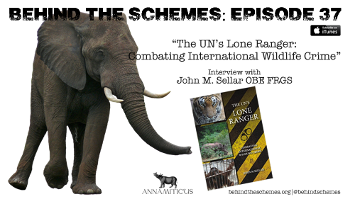 Tune in to the Behind the Schemes podcast for an exclusive interview with John Sellar, former Chief of Enforcement for CITES.